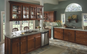 Armstrong Caruth Mocha Cabinets