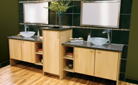 Armstrong Moderno Natural Bathroom Cabinets