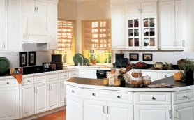 Armstrong Quadric White Cabinets