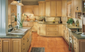 Armstrong Waverly Natural Cabinets