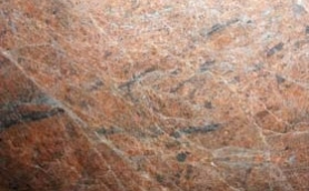 Abstract Red Granite