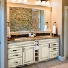 Lisburn Vanilla Cream Taupe Glaze Bath