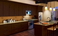 Ardmore Autumn Brown Kitchen