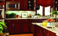 Langdon Arch Cinnamon Ebony Glaze Kitchen