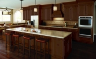 Langdon Autumn Brown Kitchen