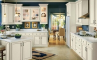 Salerno Linen Ebony Glaze Kitchen