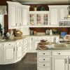 Touraine Linen Ebony Glaze Kitchen