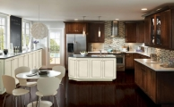 Trevino Linen Ebony Glaze Kitchen