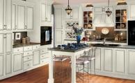 Wesley SLAB Linen Ebony Glaze Kitchen