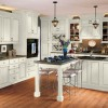 Wesley SLAB Linen Pewter Glaze Kitchen