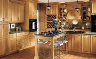 Wesley SLAB Toffee Kitchen