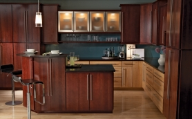 Armstrong Calibra Bordeaux Cabinets