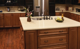 Armstrong LaCerise Espresso Cinnamon Cabinets