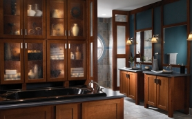 Armstrong Arborcrest Cinnamon Bath Cabinets