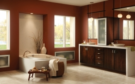 Armstrong Calibra Expresso Bathroom Cabinets