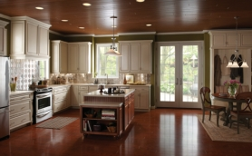 Armstrong Waverly Vanilla Cream Cabinets
