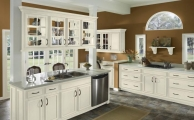 Cheswick Linen Taupe Glaze Kitchen