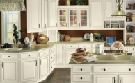 Touraine LinenTaupe Glaze Kitchen