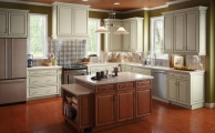 Wesley 5pc Linen Taupe Glaze Kitchen