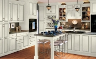 Wesley SLAB Linen Ebony Glaze Kitchen