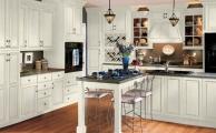 Wesley SLAB Linen Taupe Glaze Kitchen